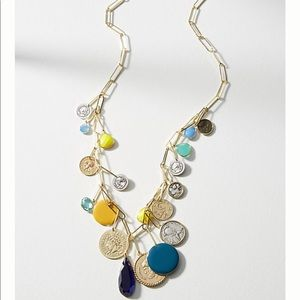 Anthropologie Bethany Charm Necklace